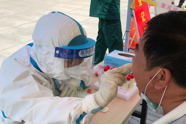 郑州人民医院第六批核酸筛查医疗队再次出征二七区