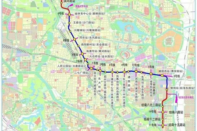郑州地铁3号线按预定时间恢复运营