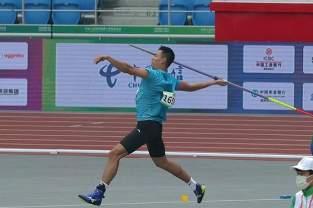 河南小将胡浩然打破标枪个人最好成绩 为河南队摘得一枚铜牌