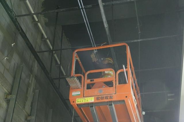 郑州南站整体工程建设进入最后一项关键施工