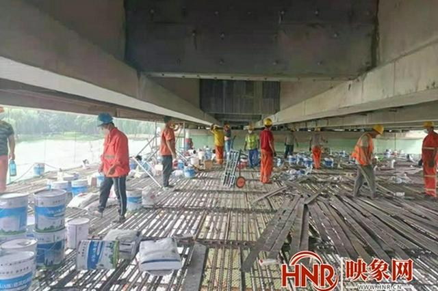 漯河市金山路沙河桥10月1日起双向全封闭 禁止车辆及行人通行
