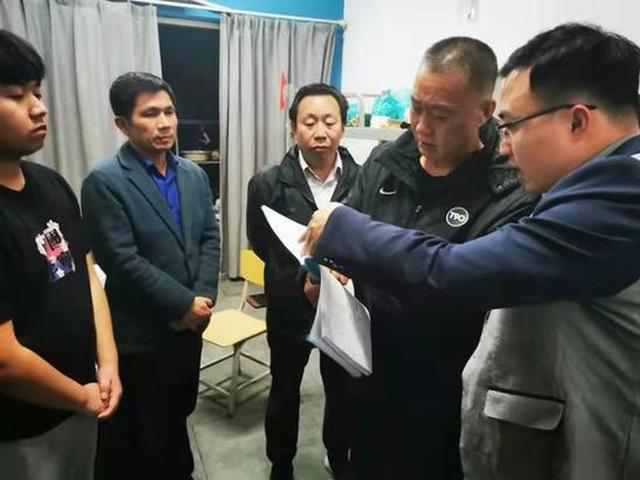河南机电职业学院张震带队检查线场课堂安全工作