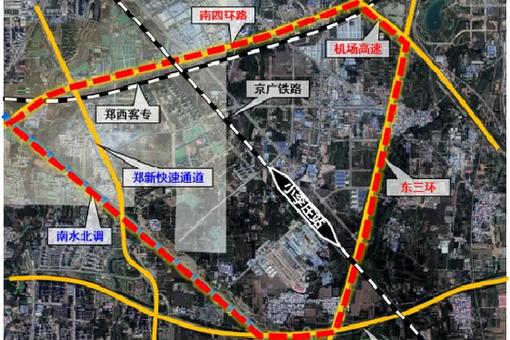 郑州将新建一座大型火车站