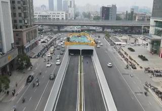 郑州桐柏路下穿陇海路隧道通车
