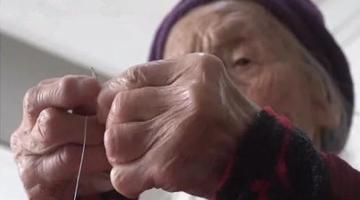 商丘113岁老人穿针引线都不是事儿