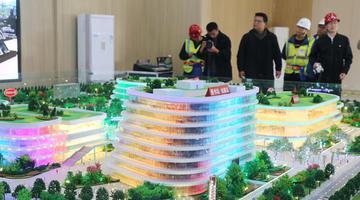 郑州添新地标 明年建成投用
