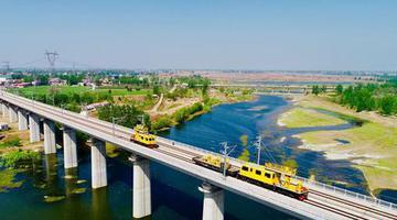 郑万铁路河南段四标段实体工程结束