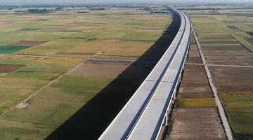 焦作至荥阳黄河大桥工程加紧建设
