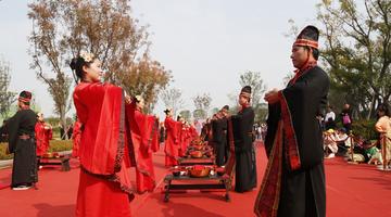 2019河南大型集体中式婚礼在郑州举行
