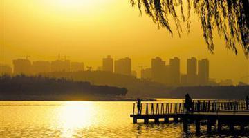 郑州北龙湖秋色