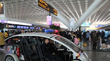 河南大雾 7000多名旅客滞留郑州机场