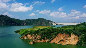 汝阳:高峡平湖处 美景若仙境