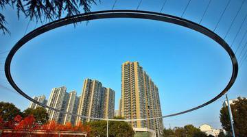 郑州再现标志性网红打卡地