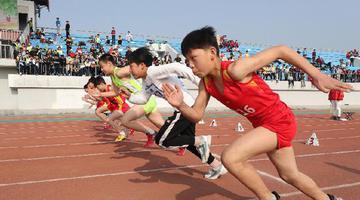 开封:中小学运动会上展风采