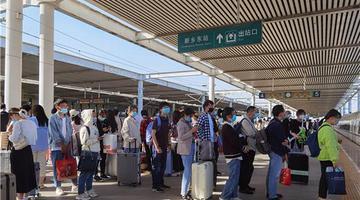 假期5天 郑州铁路发送旅客332.3万
