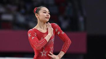 体操全锦赛:河南姑娘芦玉菲夺冠