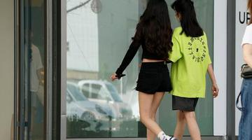 高温直击 郑州一下有了夏天的感觉