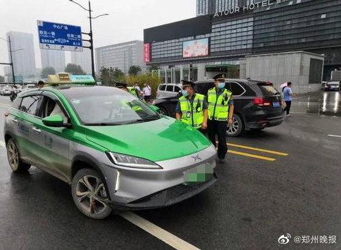 郑州7辆出租车乱收费遭罚 车牌号公布