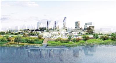 惠济新区核心起步区规划(效果图)