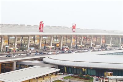 上半年郑州机场客货运增速均居全国前列(资料图片)