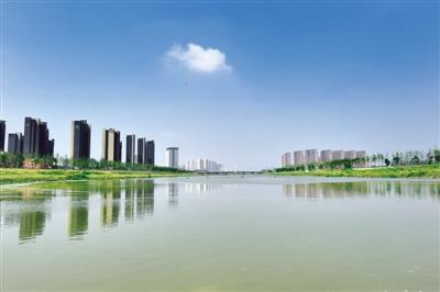 郑州生态环境明显改善 贾鲁河水