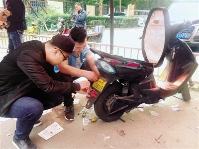 郑州12000多辆电动车已安装防盗车牌 年底前免费安装图片