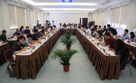 """2018年CCTV""""国家品牌计划""""创新研讨会现场"""