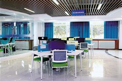 模拟财经界各行业的办公区域和场地