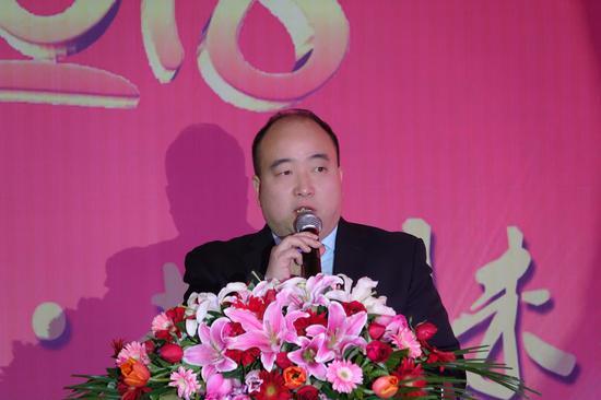 郑州市旅游协会会长王晓东讲话