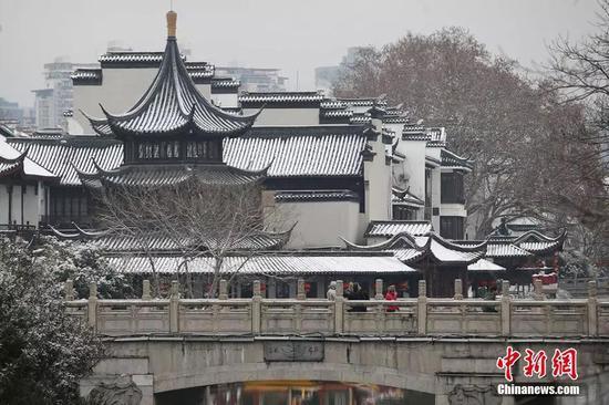 南京夫子庙文德桥。 泱波 摄