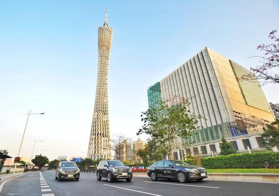 2017广州《财富》全球论坛,广汽传祺GS8、GA8和GM8作为官方指定用车,为全球政要、世界500强CEO提供礼宾接待服务