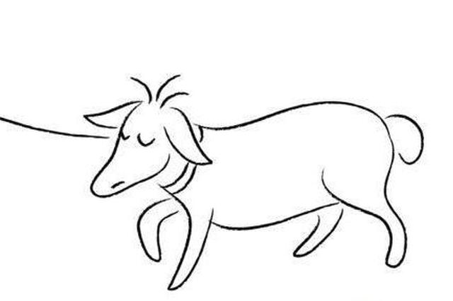 洛阳2小女孩顺手牵羊 买卖没成半路将羊放走