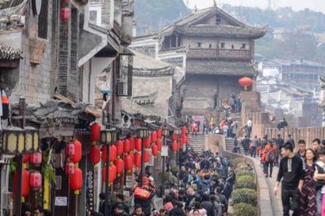 春节前三天全国旅游接待2.14亿人次 河南排名第五