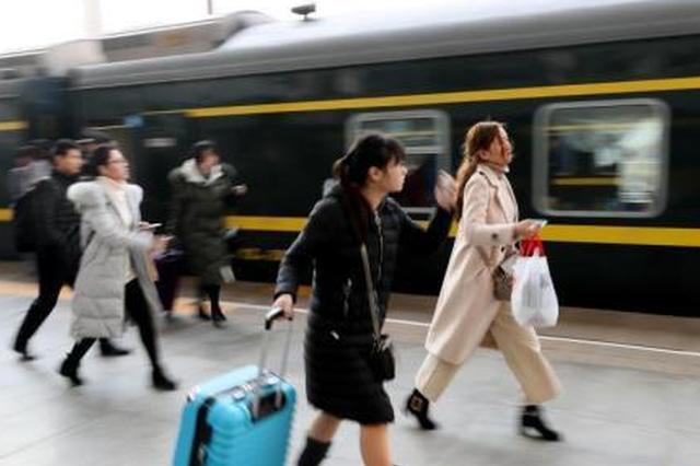假期返程客流升温 郑州增开至开封焦作新郑机场列车