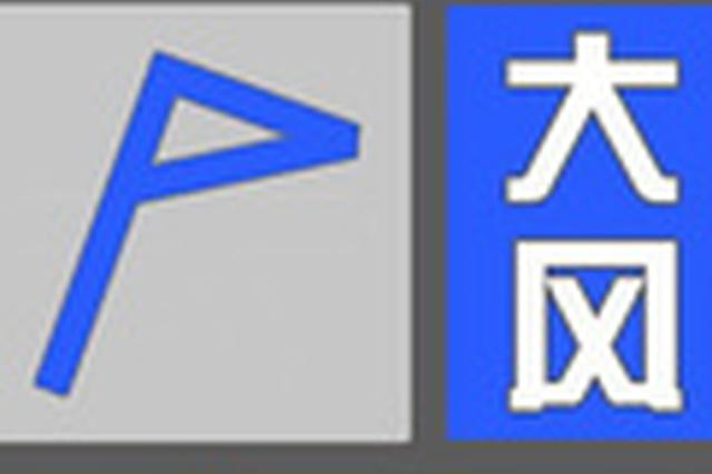 洛阳市发布大风蓝色预警 6到7级大风