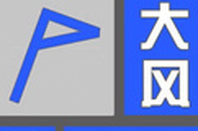 平顶山市发布大风蓝色预警 局部阵风6级以上