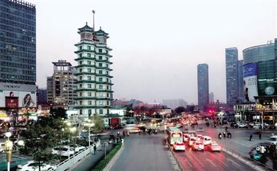 限行首日:郑州处罚闯禁行机动车6154辆