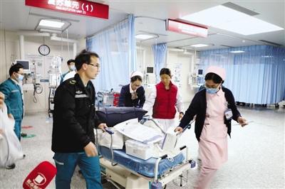 女童摔成重伤 直升机50分钟飞153公里救助转危为安