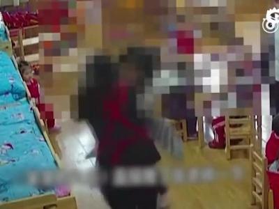 怀疑孩子被打 家长抡椅殴打幼儿园老师