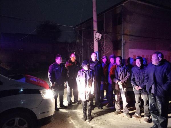 漯河临颍警方救助一名走失女子 现急寻其家人