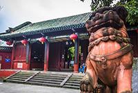 充满蜀国风的中华名园