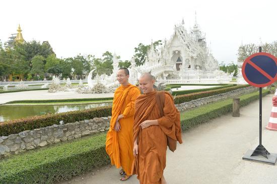 清莱城僧人