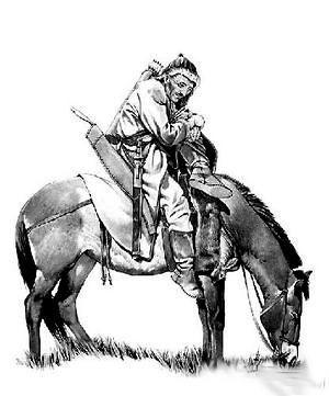 欧洲人笔下画出的匈奴人