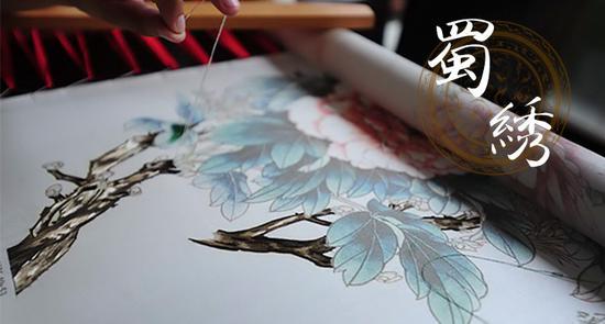 非遗中国:蜀绣|蜀绣|蜀锦|针法_新浪历史_新浪网图片
