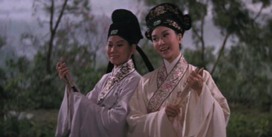 1963年邵氏黄梅调电影《梁山伯与祝英台》剧照