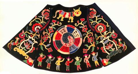 阳新布贴的图案内容一般为传统的吉祥图案
