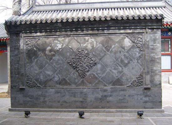 四合院影壁