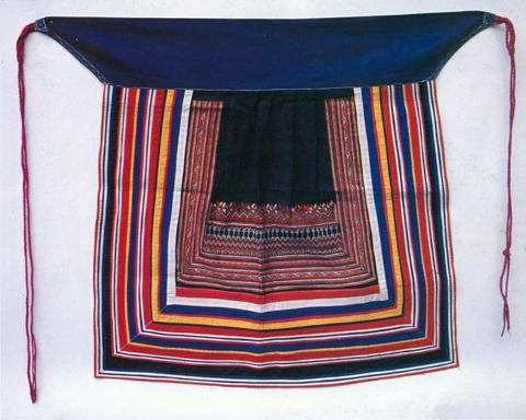 瑶族刺绣-围裙