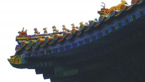 """故宫被称作""""大吻""""的吞脊兽有多大?"""