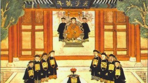 清朝皇帝上朝究竟说汉语还是满语?